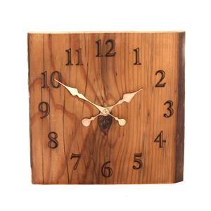 Upcycled Wood Clock
